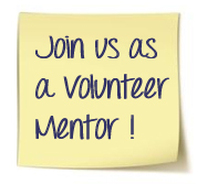 join us as a volunteer mentor